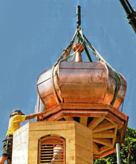 kupfer-zwiebelturm