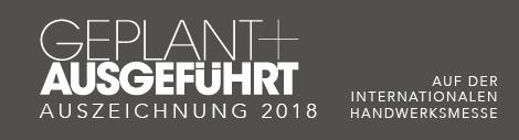 Auszeichnung Messe 2018 München